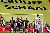seizoen 2009 / 2010 , 25-07-2009 johan cruyffschaal heerenveen - az mounir el hamdaoui scoort de 0-2