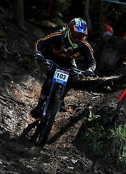 Remy Morton during day one of the 2017 UCI Mountain Bike World Cup at Fort William. PRESS ASSOCIATION Photo. Picture date: Saturday June 3, 2017. Photo credit should read: Tim Goode/PA Wire. RESTRICTIONS: Editorial use only, no commercial use without prior permission