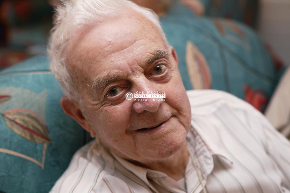 Portrait of man smiling,