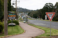 A digital road sign counts the days left in lockdown on the first day of a five day snap lockdown in Victoria due to COVID-19 outbreak originating at The Holiday Inn. The entire state is returning to harsh stage-four lockdowns until Wednesday at 11.59pm as health authorities struggle to contain the Holiday Inn coronavirus outbreak.