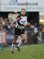 Photo: Rich Eaton.<br /> <br /> Leicester Tigers v Newcastle Falcons. Guinness Premiership. 27/01/2007. Jonny Wilkinson of Newcastle Falcons comes on as a replacement late in the first half