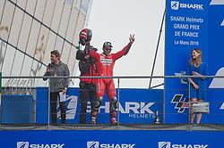May 19, 2019 - Le Mans, Sarthe, FRANCE - 9 DANILO PETRUCCI (ITA) DUCATI TEAM (ITA) DUCATI DESMOCEDICI GP19 (Credit Image: © Panoramic via ZUMA Press)