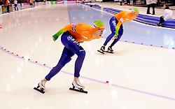 13-01-2013 SCHAATSEN: EK ALLROUND: HEERENVEEN<br /> NED, Speedskating EC Allround Thialf Heerenveen / 10000 men - Sven Kramer<br /> ©2013-FotoHoogendoorn.nl