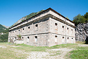 Fuerte de Sta Elena (The fort at Santa Elena), Pyrenees Mountains, Huesca province, Aragon, Spain