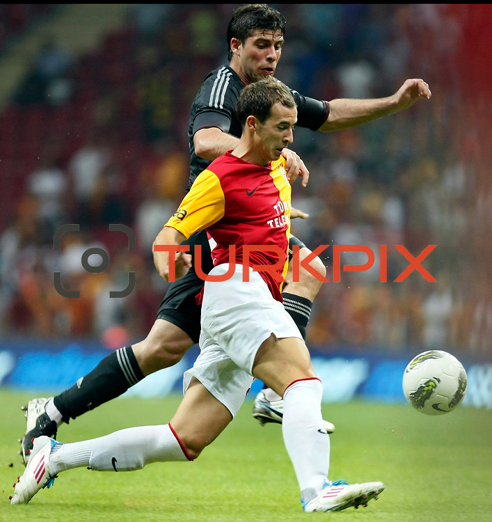 Galatasaray's Bogdan Sorin STANCU (F) during their Friendly soccer match Galatasaray between Liverpool at the TT Arena at Arslantepe in Istanbul Turkey on Saturday 28 July 2011. Photo by TURKPIX