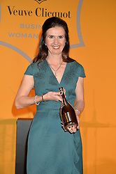 KATHERINE GARRETT-COX winner of the Veuve Clicquot Business Woman of The Year at the Veuve Clicquot Business Woman Awards held at Claridge's, Brook Street, London on 11th May 2015.