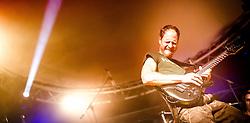 """28.09.2013, Tennishalle, Bad Hofgastein, AUT, Bernhard Gruber in Concert, im Bild Bernhard Gruber ist nicht nur ein erfolgreicher Nordischer Kombinierer sondern auch ein begnadeter Musikert. Er praesentierte zusammen mit der Band """"Landsleid"""" seine neue CD """"Back to the Roots"""". EXPA Pictures © 2013, PhotoCredit: EXPA/ Juergen Feichter"""