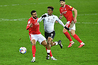 Football - 2020 / 2021 Sky Bet Championship - Swansea City vs Nottingham Forest - Liberty Stadium<br /> <br /> <br /> Jamal Lowe Swansea on the attack<br /> COLORSPORTWINSTON BYNORTH