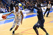 Cremona 18/10/2015 - Basket Campionato Italiano Lega A 2015-16 - Vanoli Cremona-Pasta Reggia Caserta<br /> nella foto: Washington<br /> Foto Ciamillo