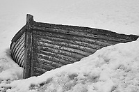 Old Wooden Boat Stuck in the Snow on Half Moon Island in the South Shetland Islands (North of the Antarctic Peninsula). Image taken with a Leica T camera and 18-56 mm lens (ISO 100, 56 mm, f/16, 1/100 sec). Raw image processed with Capture One Pro 8, Focus Magic, and Photoshop CC 2014