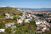 Residential suburban housing area in Granada, Spain