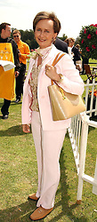 YVONNE, MARCHIONESS OF BRISTOL at the Veuve Clicquot sponsored Gold Cup or the British Open Polo Championship won by The  Azzura polo team who beat The Dubai polo team 17-9 at Cowdray Park, West Sussex on 18th July 2004.