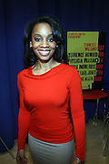 """Anika Noni Rose, at """" Cat on a Hot Tin Roof """" Press conference announcing limited broadway run,  at Broad Hurst Theater on January 8, 2008 in New York City"""