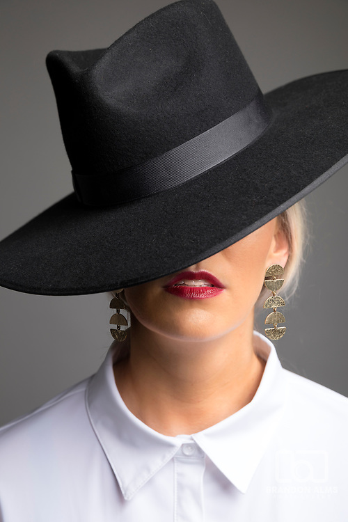 Female fashion photography by Springfield, Missouri freelance photographer Brandon Alms.
