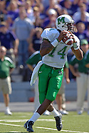 Marshall quarterback Bernard Morris drops back to pass against Kansas State at Bill Snyder Family Stadium in Manhattan, Kansas, September 16, 2006.  The Wildcats beat the Thundering Herd 23-7.