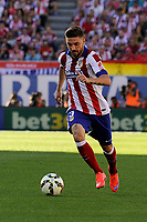 Atletico de Madrid´s Guilherme Siqueira during 2014-15 La Liga match between Atletico de Madrid and FC Barcelona at Vicente Calderon stadium in Madrid, Spain. May 17, 2015. (ALTERPHOTOS/Luis Fernandez)