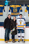 Town of Newburgh, New York - Washingtonville plays Arlington in a Hudson Valley High School Ice Hockey Association varsity game at Ice Time Sports Complex on Jan. 19, 2019.