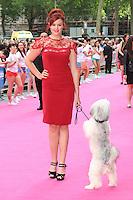 Ashleigh & Pudsey, Walking On Sunshine - World Film Premiere, Vue West End Leicester Square, London UK, 11 June 2014, Photo by Richard Goldschmidt