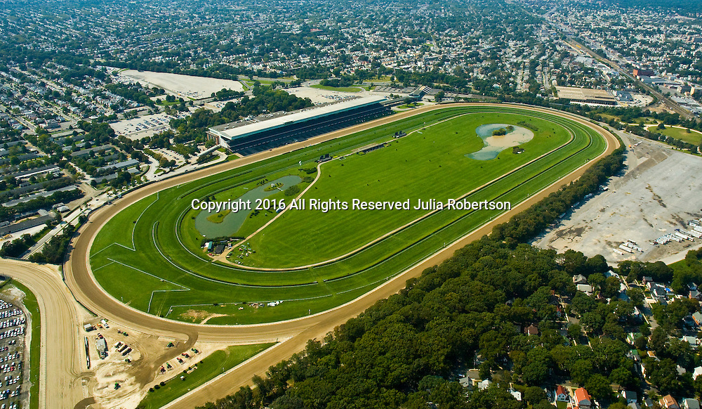 Aerial view of Belmont Park, Elmont, new york,