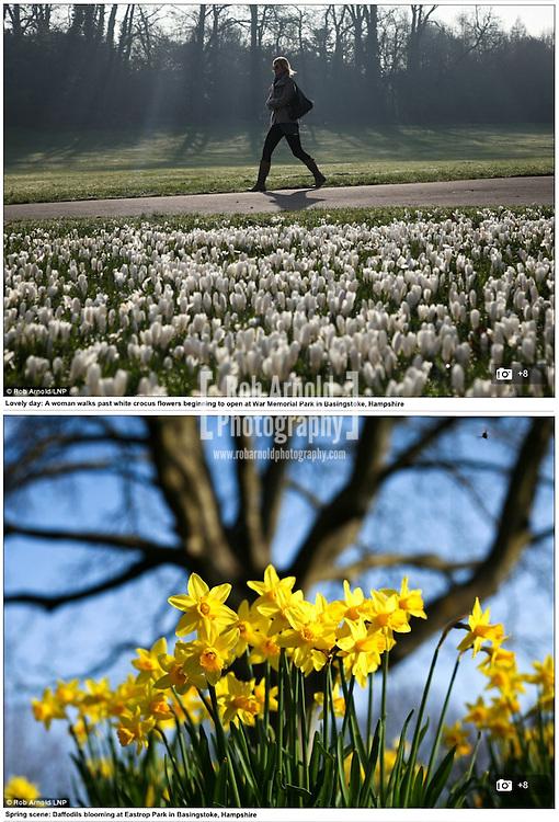 10/03/2014 - Spring weather in Basingstoke