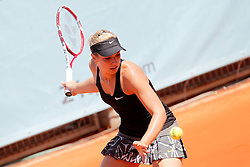 05.05.2014, Caja Magica, Madrid, ESP, WTA Tour, Madrid Open, im Bild Sabine Lisicki // Sabine Lisicki during the Madrid Open of WTA Tour at the Caja Magica in Madrid, Spain on 2014/05/05. EXPA Pictures © 2014, PhotoCredit: EXPA/ Alterphotos/ Acero<br /> <br /> *****ATTENTION - OUT of ESP, SUI*****