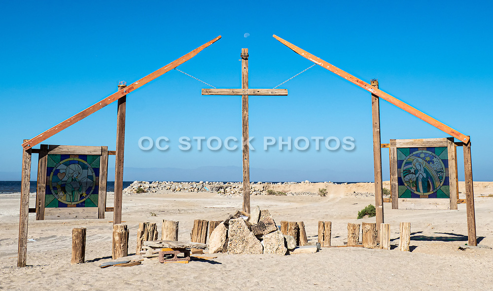 Bombay Beach Open Air Church on the Beach