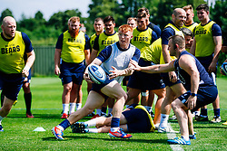 Blake Boyland in action during week 1 of Bristol Bears pre-season training ahead of the 19/20 Gallagher Premiership season - Rogan/JMP - 03/07/2019 - RUGBY UNION - Clifton Rugby Club - Bristol, England.
