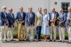 Crown Princess Victoria and husband Prince Daniel during the traditionally celebration of Crown Princess Victoria's birthday at the royal family's summer residence, Solliden Palace in Borgholm, Öland, Sweden, on July 15, 2017, a day later Stockholm celebration. Photo by Robin Utrecht/ABACAPRESS.COM