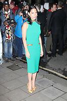 Olivia Munn, Harper's Bazaar Women of the Year Awards, Claridge's Hotel, London UK, 05 November 2013, Photo by Richard Goldschmidt