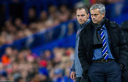 Jose Mourinho, head coach of Chelsea during football match between Chelsea FC and NK Maribor, SLO in Group G of Group Stage of UEFA Champions League 2014/15, on October 21, 2014 in Stamford Bridge Stadium, London, Great Britain. Photo by Vid Ponikvar / Sportida.com