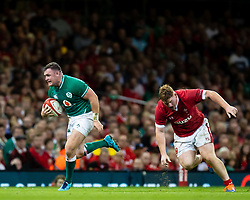 Dave Kilcoyne of Ireland<br /> <br /> Photographer Simon King/Replay Images<br /> <br /> Friendly - Wales v Ireland - Saturday 31st August 2019 - Principality Stadium - Cardiff<br /> <br /> World Copyright © Replay Images . All rights reserved. info@replayimages.co.uk - http://replayimages.co.uk