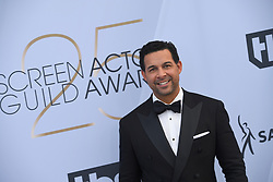 January 27, 2019 - Los Angeles, California, U.S - JON HURETOS during silver carpet arrivals for the 25th Annual Screen Actors Guild Awards, held at The Shrine Expo Hall. (Credit Image: © Kevin Sullivan via ZUMA Wire)