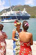 World Discoverer, Hakahau, Ua Pou, Marquesas, French Polynesia, (editorial use only, no model release)<br />