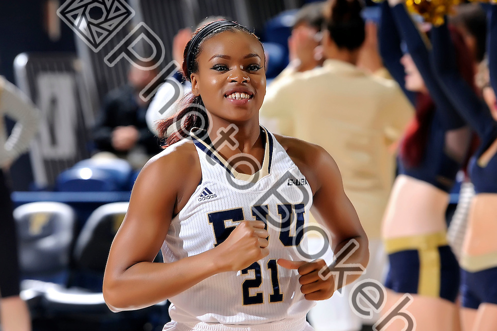 2016 January 23 - FIU's Destini Feagin (21). <br /> Florida International University fell to UTEP, 57-69, at FIU Arena, Miami, Florida. (Photo by: Alex J. Hernandez / photobokeh.com) This image is copyright by PhotoBokeh.com and may not be reproduced or retransmitted without express written consent of PhotoBokeh.com. ©2016 PhotoBokeh.com - All Rights Reserved