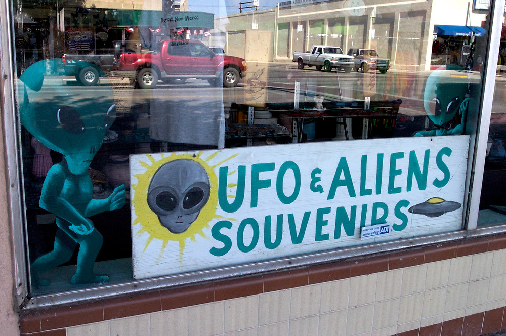 Roswell, New Mexico. It's renowned as the site of an alleged 1947 UFO crash. USA