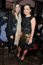 MARTHA FIENNES and ELLA KRASNER at W London - Leicester Square for the Liberatum Cultural Honour in Spice Market for John Hurt, CBE in association with artist Svetlana K-Lié on 10th April 2013.