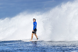 June 15, 2017 - Rookie Leonardo Fioravanti of Italy finished equal 5th in the Outerknown Fiji Pro after placing second to Michel Bourez of Tahiti in quarterfinal heat 2 in excellent Cloudreak conditions...Outerknown Fiji Pro, Nadi, Fiji - 15 Jun 2017. (Credit Image: © Rex Shutterstock via ZUMA Press)