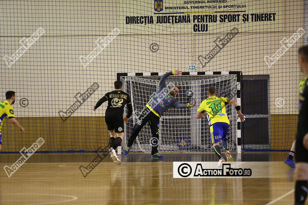 Meciul de handbal masculin dintre AHC Potaissa Turda si ACS HC Buzau 2012 în Liga Zimbrilor, vineri 9 aprilie 2021, la Sala Horia Demian din Cluj-Napoca. © Action Foto / Mircea Rosca Unauthorized use is prohibited. All rights reserved.