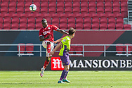 Bristol City's Antoine Semenyo (18) during the EFL Cup match between Bristol City and Exeter City at Ashton Gate, Bristol, England on 5 September 2020.