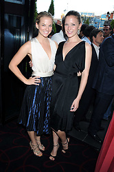 Left to right, BETH McLAUGHLAN and MEREDITH REEVE at the Beat Summer party hosted by Luca del Bono at L'Atelier De Joel Robuchon, 13-15 West Street, Covent Garden, London on 1st July 2008.<br /><br />NON EXCLUSIVE - WORLD RIGHTS