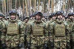 March 26, 2019 - Kiev, Ukraine - Servicemen during The celebrations on the occasion of the 5th anniversary of the National Guard of Ukraine, Kyiv, Ukraine. 26-03-2019  (Credit Image: © Maxym Marusenko/NurPhoto via ZUMA Press)