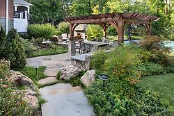 12214 Brecknock landscaping