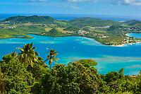 France, Martinique, Cul de Sac du Marin
