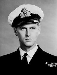 File photo dated 5/12/46 of the Duke of Edinburgh as a lieutenant in the Royal Navy. The Duke of Edinburgh has died, Buckingham Palace has announced. Issue date: Friday April 9, 2020.. See PA story DEATH Philip. Photo credit should read: PA Wire