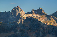 Liberty Bell Mountain seen from Cutthroat Pass. North Cascades Washington