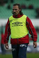 Fotball. Tippeligaen. 01.05.2002.<br /> Stabæk v Bryne 2-1.<br /> Dejan Pavlovic, Bryne.<br /> Foto: Morten Olsen, Digitalsport