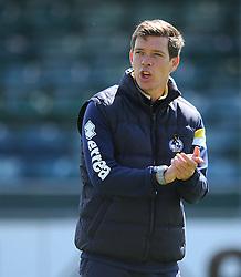 Bristol Rovers Manager, Darrell Clarke - Photo mandatory by-line: Dougie Allward/JMP - Mobile: 07966 386802 - 12/05/2015 - SPORT - Football - Bristol - Memorial Stadium - Bristol Rovers v Grimbsy Town - Vanarama Football Conference