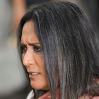 SHEFFIELD, UNITED KINGDOM - 9th June 2007: controversial Canadian-based filmmaker Deepa Mehta  International Indian Film Academy Awards (IIFAs) at the Sheffield Hallam Arena on June 9, 2007 in Sheffield, England.