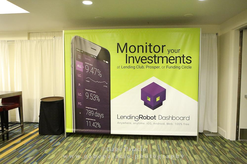 LendIt USA 2016 conference in San Francisco, California, USA on April 10, 2016. (photo by Evans Vestal Ward)