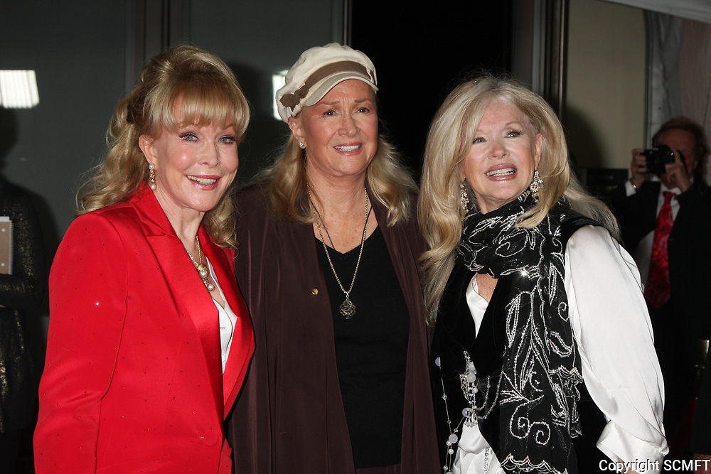 11/3/2010 Barbara Eden, Diane Ladd and Connie Stevens attend the Hollywood Walk of Fame's 50th anniversary party.